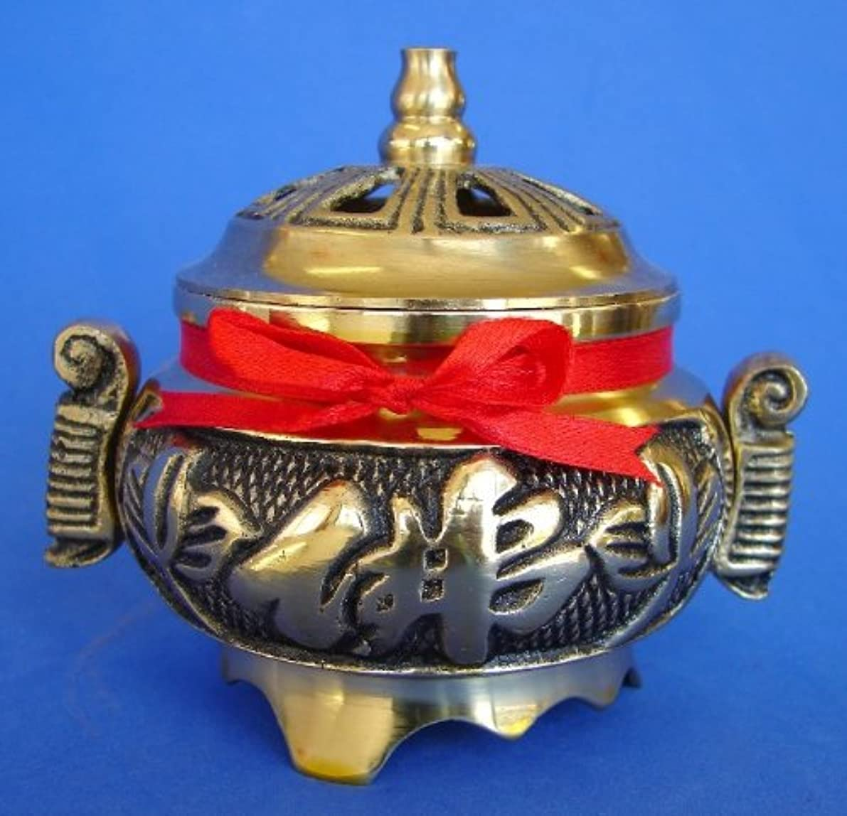 バーチャル村オーストラリアBrass Incense Burner for Cone Incenses
