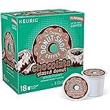The Original Donut Shop Chocolate Glazed Donut Medium Roast Coffee - Keurig K-Cup Pods- 18ct [並行輸入品]