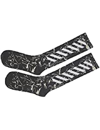 [クルーズライン] メンズ レディース ストライプ 厚手 ロング ソックス ハイソックス 靴下 カジュアル ファッション スニーカー スポーツ B74