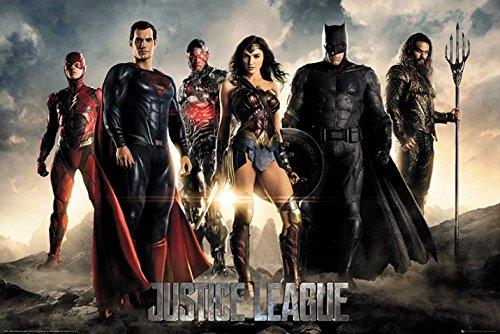 映画ポスター ジャスティスリーグ Justice League UK版 uk12 [並行輸入品]