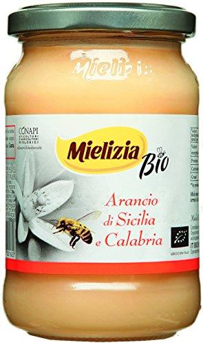 Mielizia(ミエリツィア) イタリア産オレンジの有機ハチミツ(純粋) 400g