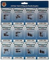 Bachmann Trains E–ZメイトマークIIと磁気カプラーメタルコイルばね–センターシャンク–Long (12Couplerペアあたりカード)–Hoスケール