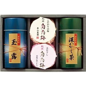 紀州南高梅・静岡銘茶詰合せ UMN-50