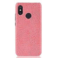 Xiaomi Mi Max 3 Pro Case, Scheam 男の子 Anti-shock 男の子 Bumper Back Cover, Pink