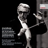 Dvorak: Symphony No. 3; Glazunov: Saxophone Concerto; Gershwin: Rhapsody in Blue by Karel Krautgartner (2009-03-31)