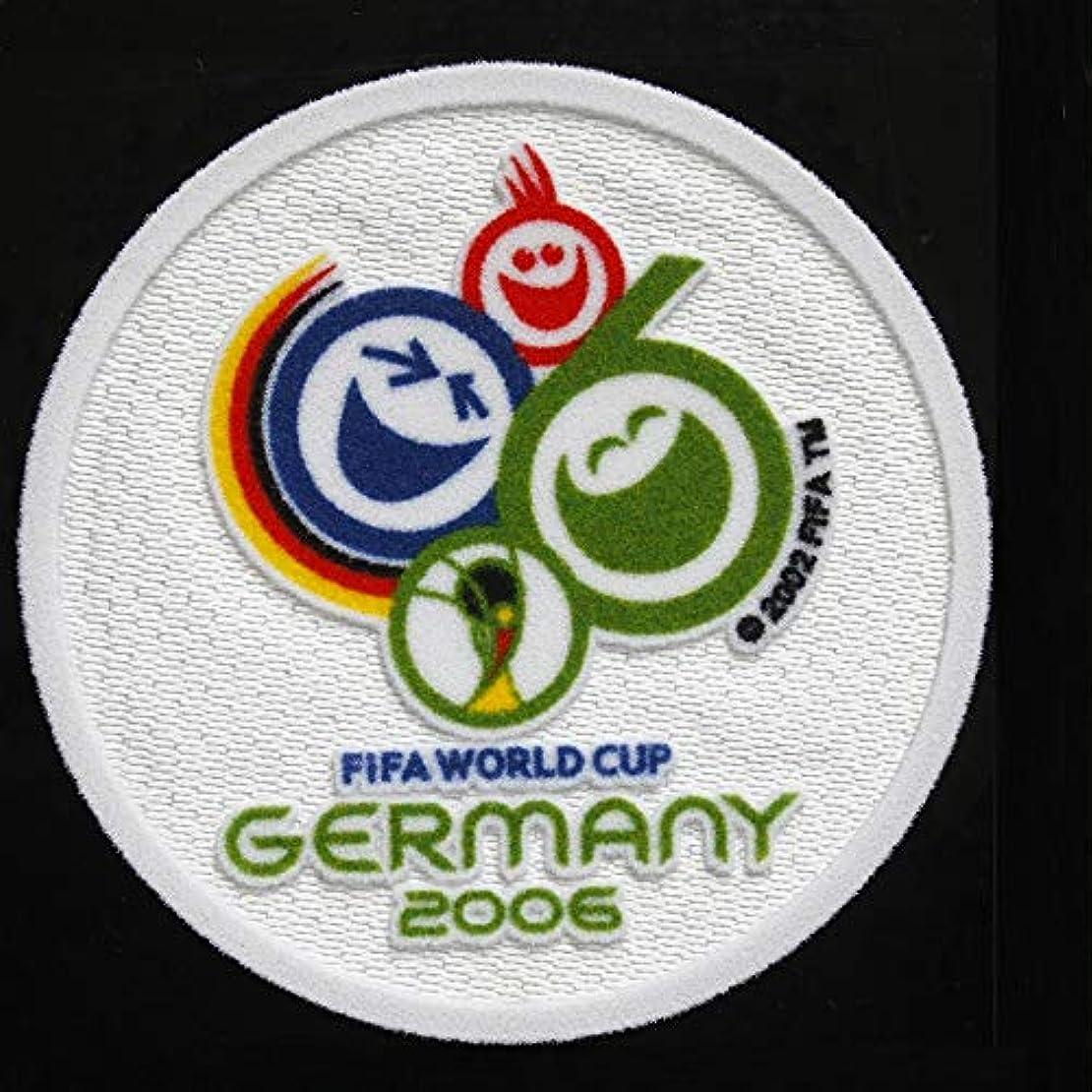 一般共役猛烈な2006年ドイツワールドカップFIFA W杯ワッペンユニフォーム用 アイロンワッペン半袖シャツ長袖サッカー応援グッズWC仕様パッチ(2006年 1枚)