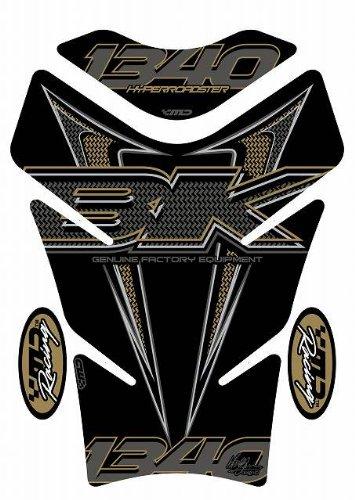 MOTOGRAFIX(モトグラフィックス) タンクパッド SUZUKI B-KING ブラック/ゴールド MT-TS017K