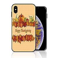 iPhone XS 携帯カバー 感謝祭 楓 果物 カバー TPU 薄型ケース 防塵 保護カバー 携帯ケース アイフォンケース 対応 ソフト 衝撃吸収 アイフォン スマートフォンケース 耐久