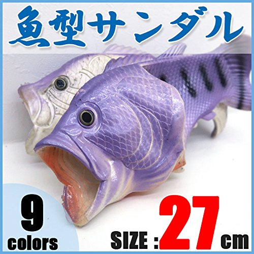 【27cm】サンダル 魚サン ビーチサンダル 魚サンダル ギ...