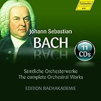 J.S. バッハ : オーケストラ作品集 (Johann Sebastian Bach : The complete Orchestral Works | Samtliche Orchesterwerke / Edition Bachakademie) (11CD Box) [輸入盤]
