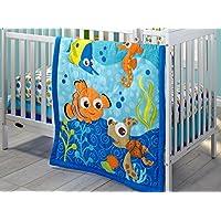 Disney Nemo 3 Piece Crib Bedding Set by Disney [並行輸入品]