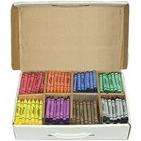 PrangクレヨンMasterパック、Lサイズ、ボックス400の各色、8アソート色のクレヨン、50 ( 32351 ) by Prang