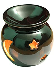 Ab Handicrafts – セラミック – Essential Oil Burner、完璧ハンドメイドOil Diffuser for Fragrance &アロマセラピー – 素晴らしい装飾のリビングルーム、バルコニー...