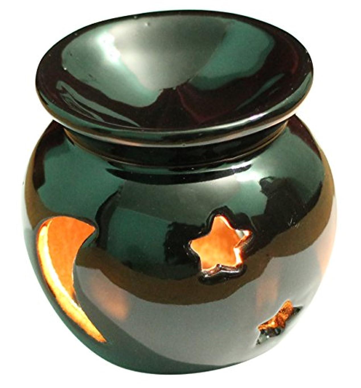 有罪組み合わせぴかぴかAb Handicrafts – セラミック – Essential Oil Burner、完璧ハンドメイドOil Diffuser for Fragrance &アロマセラピー – 素晴らしい装飾のリビングルーム、バルコニー...