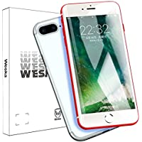 iPhone8 7 iPhone7plus/8plus 強化ガラス液晶保護フィルム 日本製素材旭硝子製 5D 全面保護 透過率99.9% 硬度9H 耐衝撃 0.29mm 超薄型 5Dラウンドエッジ加工 2018版専用設計 (iPhone7/8 ホワイト)