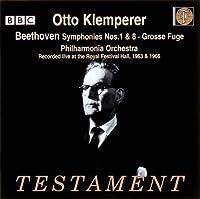 ベートーヴェン:交響曲第1番&第8番
