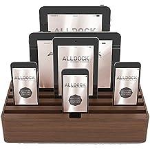Alldock Large Walnut Base with Walnut Top (Walnut/Walnut)