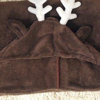 トナカイ ブランケット 肩掛け 膝掛け コスプレ 着る毛布