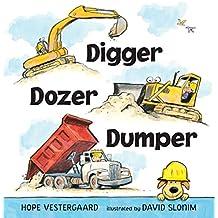 Digger, Dozer, Dumper Board Book
