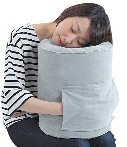 飛行機 フットレスト 抱き枕 うつぶせ寝 機内 まくら クッション あし置き...