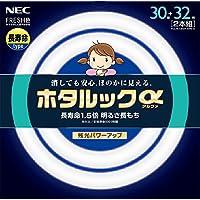 NEC 丸形蛍光灯(FCL) ホタルックα 30形+32形パック品 昼光色 FCL30.32EDF-SHG-A