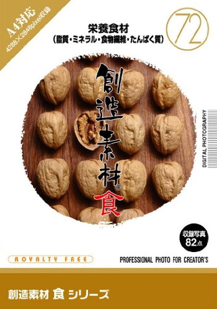 創造素材 食シリーズ(72)栄養食材(脂質?ミネラル?食物繊維?たんぱく質)