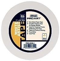 Pro Art 3/4-Inch by 60-Yards White Artist Tape [並行輸入品]