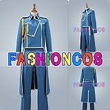 女性LLサイズ QS029 鋼の錬金術師 ロイ・マスタング 軍服 コスプレ衣装
