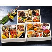 京都 しょうざん おせち料理 2019 玉庵 三段重 46品 盛り付け済み 冷凍おせち お届け日:12月30日
