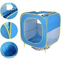 WINOMO ベビービーチテントポータブルサンシェイドプールUV保護日シェルター屋外防水水泳キャンプテント