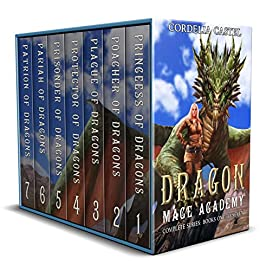 Dragon Mage Academy The Complete Series: Books 1-7 Box Set by [Castel, Cordelia]