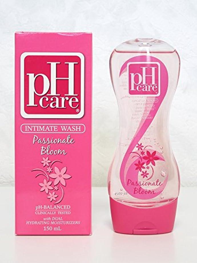 イル肌寒い色合いpHcare フェミニンウォッシュ パッショネートブルーム 150ml  pHcare Intimate Wash Passionate Bloom 150ml