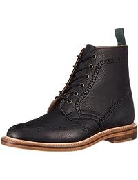[エヌピーエス] ブーツ HEATH 6 Eye Derby Brogue Boot Heritage Collection 019-157