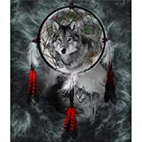 5d diyダイヤモンド絵画クロスステッチダイヤモンド刺繍オオカミ動物絵ダイヤモンドモザイク家の装飾,50x70cm