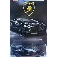 Hot Wheels 2017 Lamborghini Series Lamborghini Aventador 4/8 Black [並行輸入品]