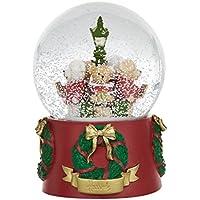 [Harrods] ハロッズ 2017年限定 クリスマス テディベア スノードーム ライトアップ機能付き/Christmas Bear Light Up Snow Globe[正規品]