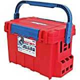 Meiho Versus Tackle Box Bucket Mouth BM-9000 540 x 340 x 350 mm Red (2029) [並行輸入品]