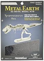 Fascinations Metal Earth Tyrannosaurus Rex Skeleton 3D Metal Model Kit [並行輸入品]
