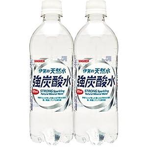 【2CS】サンガリア伊賀の天然水 強炭酸水500ml×48本 日本サンガリア 【4~5営業日以内に出荷】