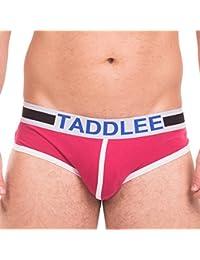 Taddlee UNDERWEAR メンズ US サイズ: Small カラー: レッド