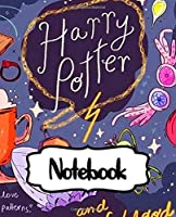 Notebook: Drawing Art Potterhead Series Movie Comic Non Science Notebook Soft Glossy with College Ruled Lined Paper for Taking Notes Writing Workbook for Teens Adults and Children Students School Kids Inexpensive Gift For Boys and Girls Potterhead
