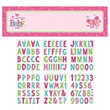 Amscan Appealing Welcome Little One-Girl Giant Sign Banner Baby Shower Party Decorations 65 x 20. (12 Piece) [並行輸入品]