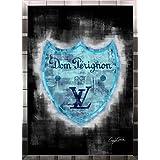 アートショップ フォームス ブランドオマージュアート/クレイグ・ガルシア「ルイ・ヴィトン/ドン・ペリニヨンc(S)」ポスター