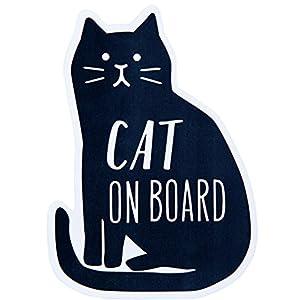 MAYPOLE メッセージステッカー CAT ON BOARD ZME-13240