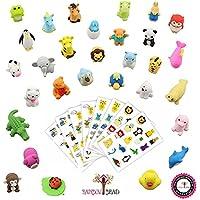 動物園の動物消しゴム25種類セット - ゲーム、パズル