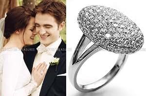 映画 Twilight トワイライト サーガ ベラ リング 婚約指輪 結婚指輪 (14)