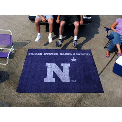 US Naval Academy Tailgaterラグ5 ' x6 '