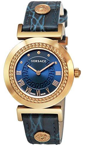 [ヴェルサーチ]VERSACE 腕時計 VANITY ブルー...