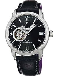 [オリエント]ORIENT 腕時計 ORIENTSTAR オリエントスター セミスケルトン 機械式 自動巻(手巻付) ブラック WZ0221DA メンズ