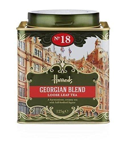 Harrods(ハロッズ) No.18 ジョージアン ブレンド リーフ 茶葉 125g 英国 紅茶 / Georgian Blend No.18 Loose Leaf Tea (125g) [並行輸入品]
